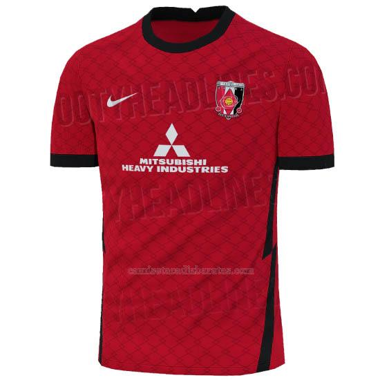 camiseta concepto del urawa red diamonds del 1ª equipación 2021
