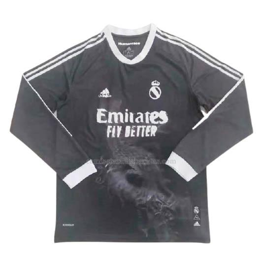camiseta manga larga del real madrid del 2020