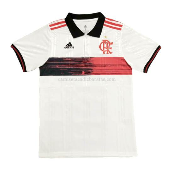 camiseta polo flamengo blanco 2020-21