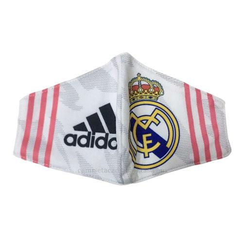 máscaras faciales real madrid blanco 2020-21