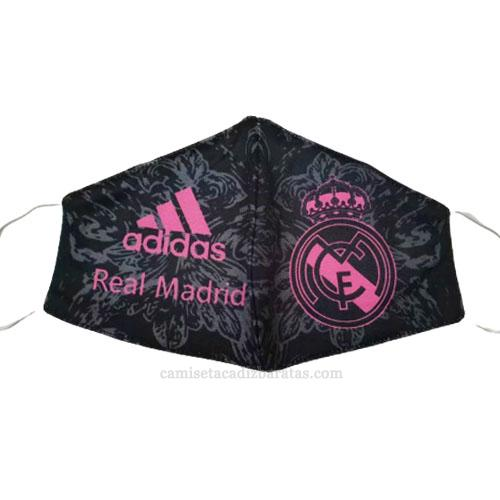 máscaras faciales real madrid negro 2020-21